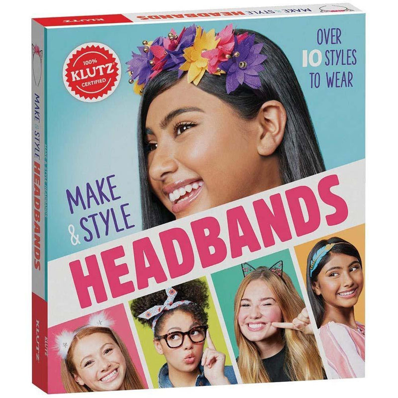 Klutz Make & Style Headbands Craft Kit-BuyBookBook