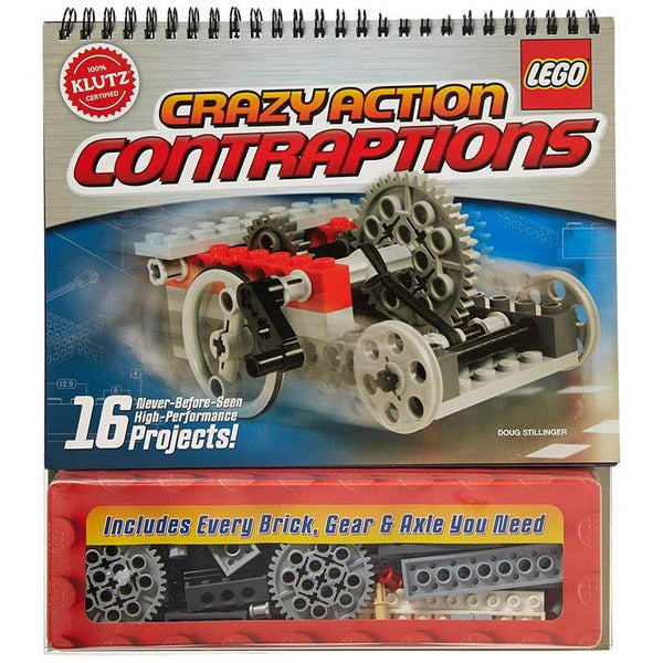 Klutz LEGO Crazy Action Contraptions-BuyBookBook