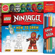 Klutz LEGO NINJAGO How to Draw Ninja, Villains, and more!-BuyBookBook