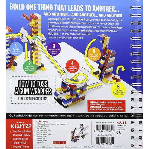 Klutz LEGO Chain Reactions-BuyBookBook