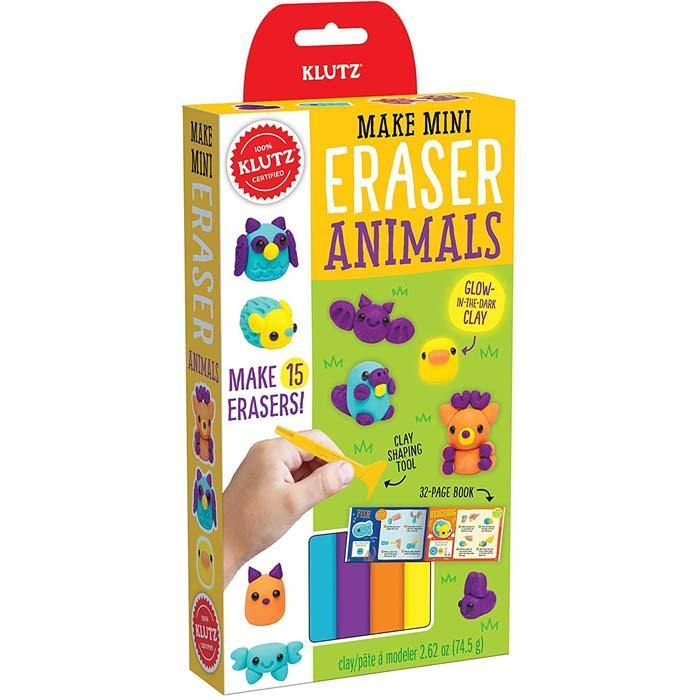 Klutz Make Mini Eraser Animals-BuyBookBook