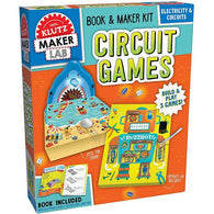 Klutz Maker Lab Circuit Games-BuyBookBook