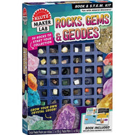 Klutz Maker Lab Rocks, Gems & Geodes-BuyBookBook