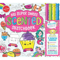 Klutz My Super Sweet Scented Sketchbook-BuyBookBook