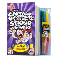 Klutz The Captain Underpants Super-Silly Sticker Studio-BuyBookBook