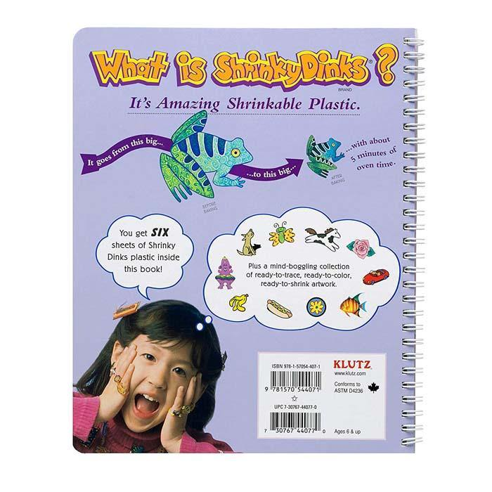 Klutz The Shrinky Dinks Book-BuyBookBook