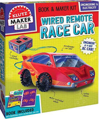 Klutz Maker Lab Wired Remote Race Car-BuyBookBook