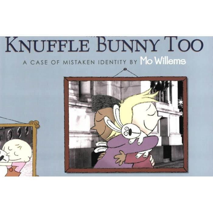 Knuffle Bunny Too A Case of Mistaken Identity (Hardback)(Mo Willems)-BuyBookBook