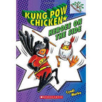 Kung Pow Chicken #04 Heroes on the Side (Book + CD)-BuyBookBook