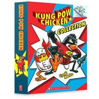 Kung Pow Chicken #01-04 Collection (4 book)-BuyBookBook