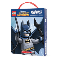 LEGO DC Super Heroes Phonics Collection (12 Books)-BuyBookBook