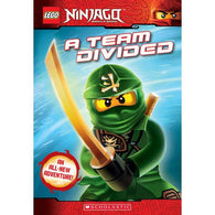 LEGO Ninjago Chapter Book #06 A Team Divided-BuyBookBook