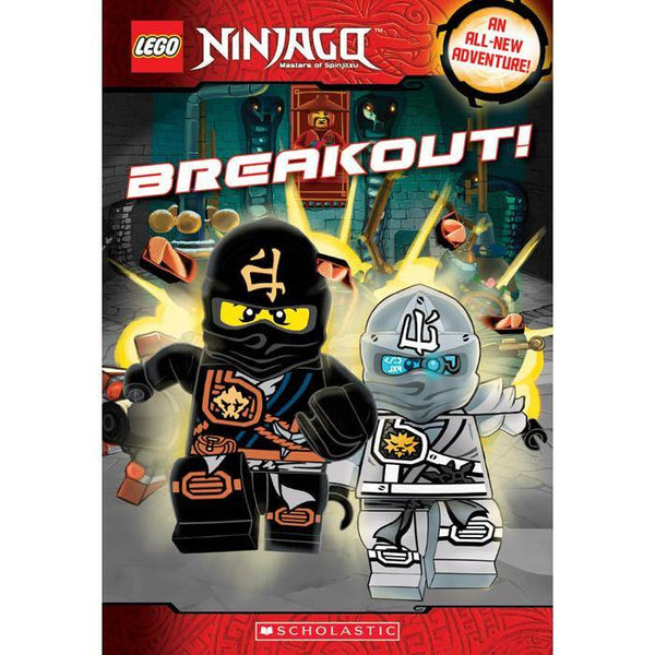 LEGO Ninjago Chapter Book #08 Breakout-BuyBookBook