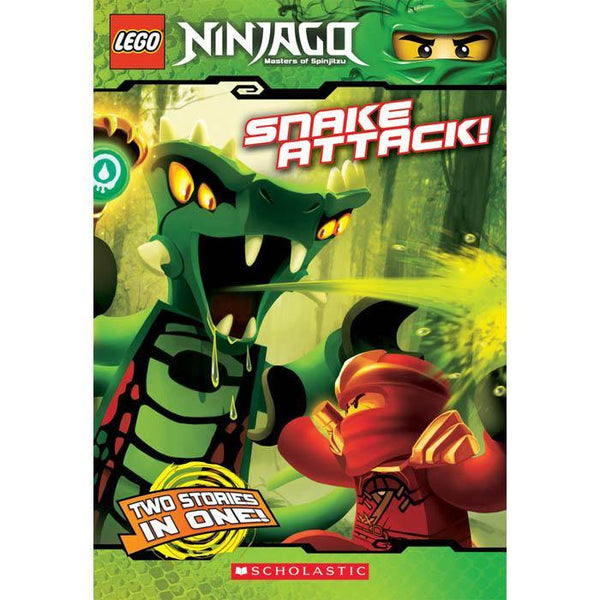 LEGO Ninjago Chapter Book #05 Snake Attack-BuyBookBook