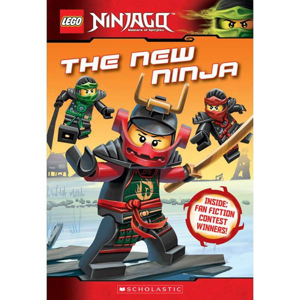 LEGO Ninjago Chapter Book #09 The New Ninja-BuyBookBook