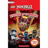 LEGO Ninjago #17 Mystery of the Masks-BuyBookBook