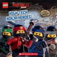 LEGO Ninjago Movie Story : High-Tech Ninja Heroes-BuyBookBook
