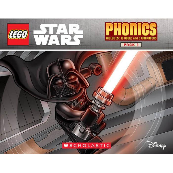 LEGO Star Wars Phonics Boxed Set (12 Books)-BuyBookBook