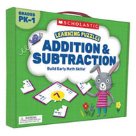 Learning Puzzles Addition & Subtraction-BuyBookBook