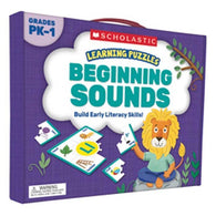 Learning Puzzles Beginning Sounds-BuyBookBook