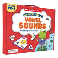 Learning Puzzles Vowel Sounds-BuyBookBook