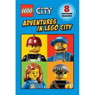 Lego City Adventures in Lego City Collection (8 Books)-BuyBookBook