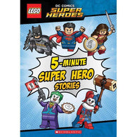 Lego DC Comics 5-Minute Super Hero Stories (Hardback)-BuyBookBook