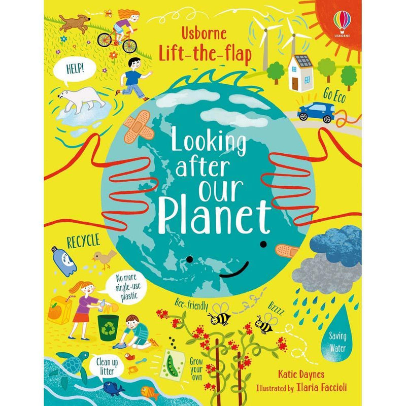 Lift-the-flap Looking After Our Planet-BuyBookBook