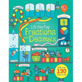 Lift-the-flap Fractions and Decimals-BuyBookBook