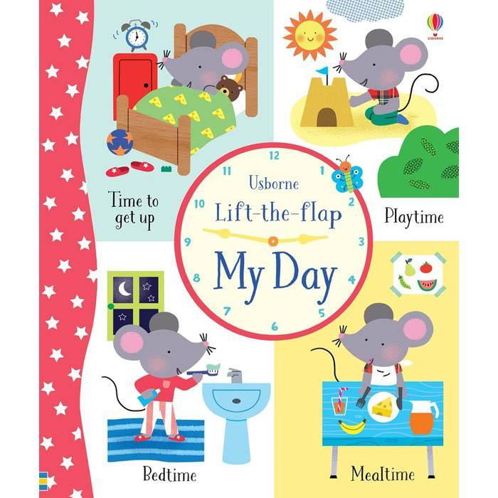 Lift-the-flap My Day-BuyBookBook