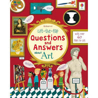Lift-the-flap Questions and Answers About Art-BuyBookBook
