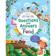 Lift-the-flap Questions and Answers About Food-BuyBookBook