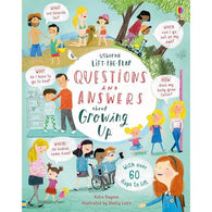 Lift-the-flap Questions and Answers About Growing Up-BuyBookBook