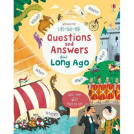 Lift-the-flap Questions and Answers About Long Ago-BuyBookBook