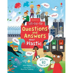 Lift-the-flap Questions and Answers About Plastic-BuyBookBook