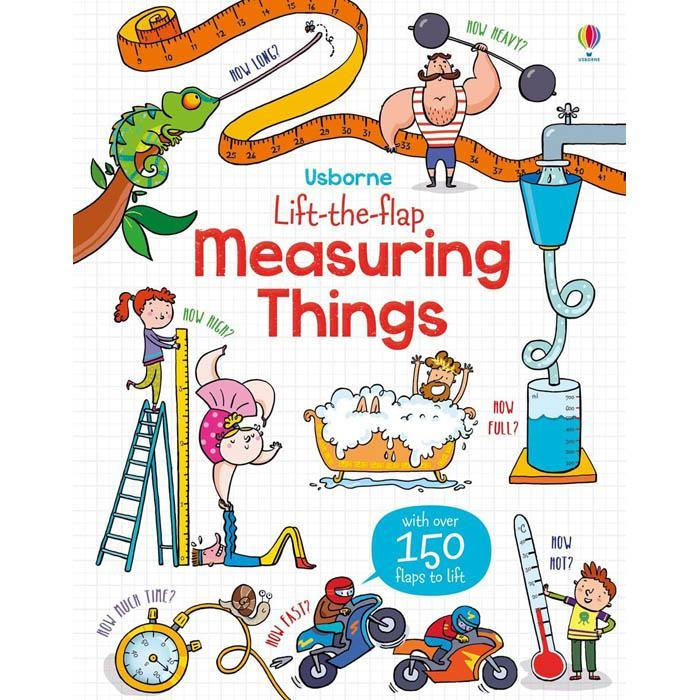 Lift-the-flap measuring things-BuyBookBook