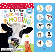 Lift the Flap Look Who's Mooing!-BuyBookBook