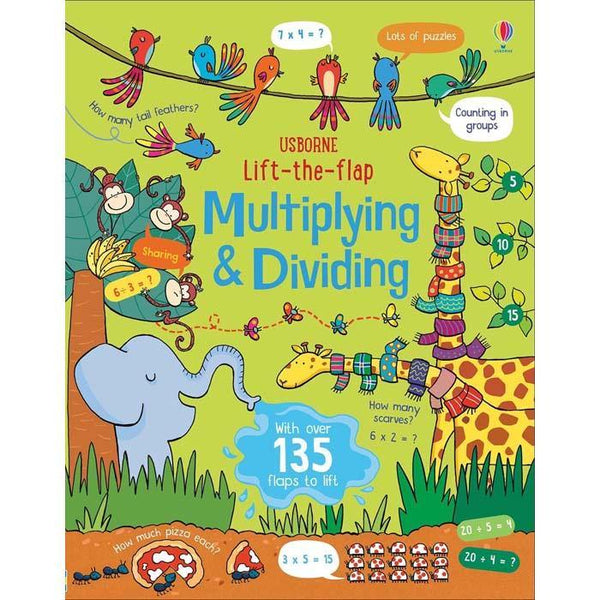 Lift-the-flap multiplying and dividing-BuyBookBook