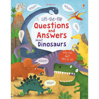 Lift-the-flap Questions and Answers About Dinosaurs-BuyBookBook