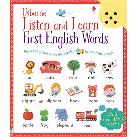 Listen and Learn First English Words-BuyBookBook