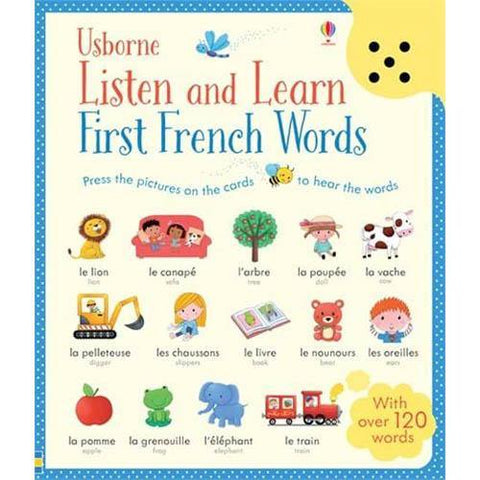 Listen and Learn First French Words-BuyBookBook