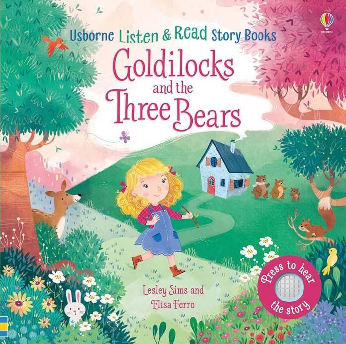 Listen and Read Stories Goldilocks and the Three Bears-BuyBookBook