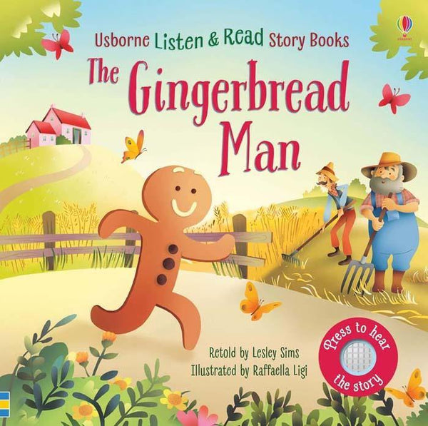 Listen and Read Stories The Gingerbread Man-BuyBookBook