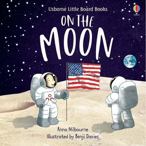 Usborne Little Board Books - On the Moon-BuyBookBook