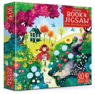 Usborne Little Red Riding Hood Picture Book and Jigsaw (30 pcs)-BuyBookBook