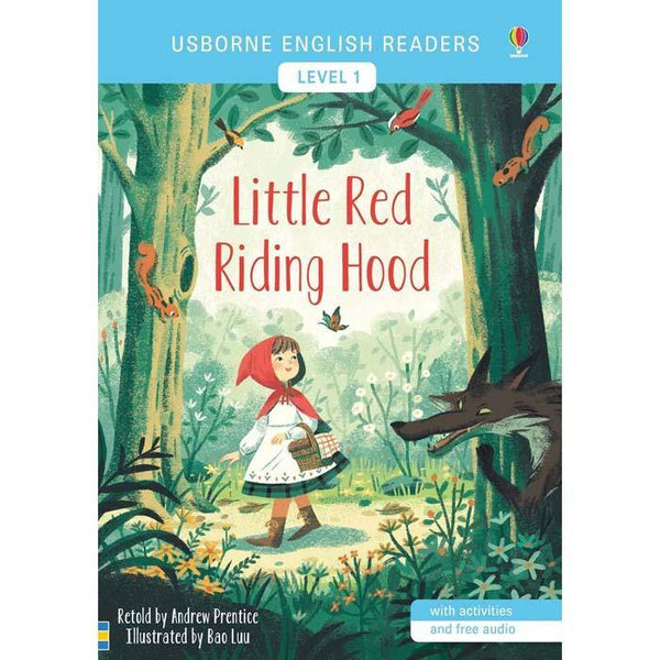 Little Red Riding Hood (with Audio QR Code)-BuyBookBook
