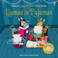 Listen and Learn Stories Llamas in pyjamas-BuyBookBook