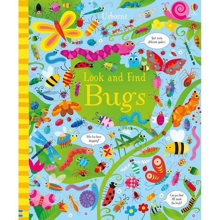 Look and find bugs-BuyBookBook