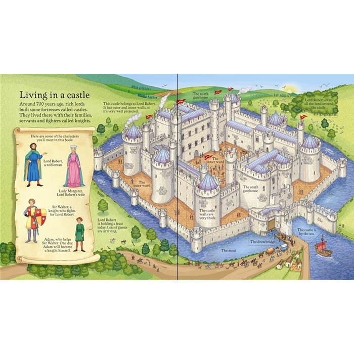 Look inside a Castle-BuyBookBook