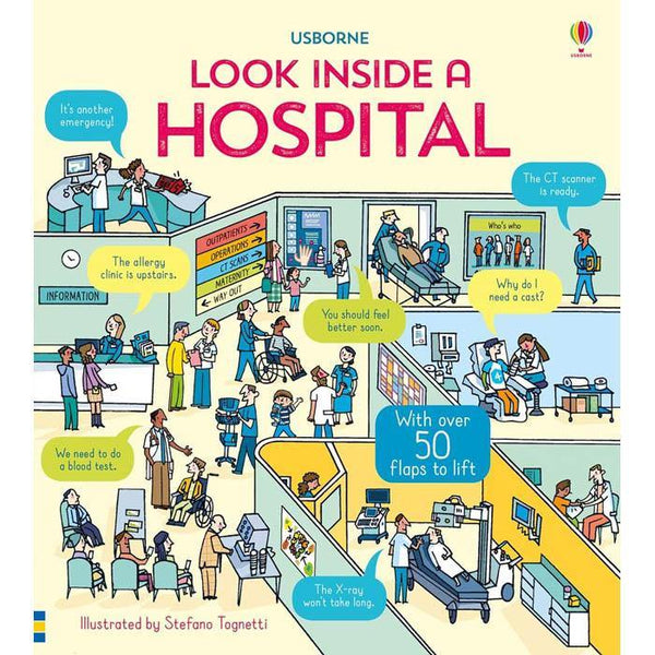 Look inside a hospital-BuyBookBook